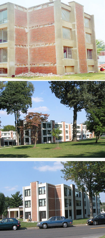 Mullica and Evergreen Residence Halls